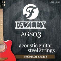 Fazley AGS03 snaren akoestische western gitaar (medium light)