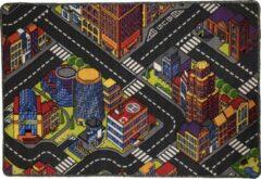 Dywanik Speelkleed - Verkeerskleed - speel tapijt - Smart City 80 x 120 cm - Design 3