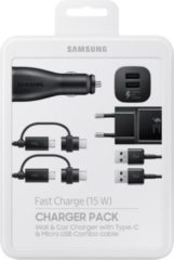Samsung Multi-Ladekabel-Set EP-U3100, Schwarz