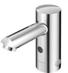 Schell Modus E HD-K 1-gats wastafelkraan koud water m. infrarood sensor elektronisch 9V chroom