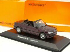 Peugeot 306 Cabriolet 1998 Paars Metallic 1-43 Maxichamps