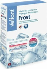 Witte Super Frost Velfont Verkoelende Molton 140 x 190/200 cm