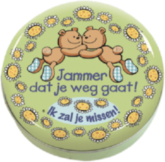 Paper dreams Lovely Tins - jammer dat je weggaat