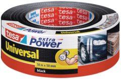 Tesa 56389-00001-05 Textieltape tesa Extra Power Zwart (l x b) 50 m x 50 mm 1 rollen