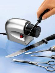 Elektrischer Messerschärfer 'Schleif-Profi' TRI silber