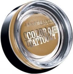 Gouden Maybelline Color Tattoo Oogschaduw 05 Eternal Gold