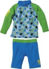 BECO UV-shirt + zwemshort Sealife Blauw| 80-86