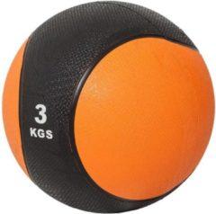Oranje Gorilla Sports Medicine Ball 3 kg (Kunststof)