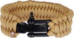 Beige LGT JWLS LGT Jewels Paracord armband Sand