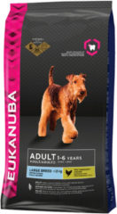 EUKANUBA DOG ADULT LARGE BREED CHICKEN HONDENVOER #95; 12 KG