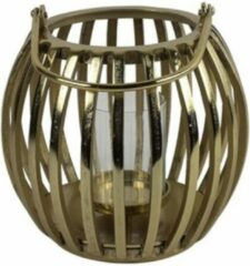 Luxury Label Windlicht Macey 30 X 30 Cm Staal Goud
