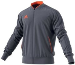 Trainingsjacke Condivo 18 CF4322 mit schmalem Kragen adidas performance onix/orange