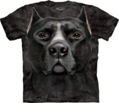 Grijze The Mountain Honden T-shirt Pitbull voor volwassenen XL