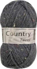 Cheval Blanc Country Tweed wol en acryl garen - jeans blauw (010) - pendikte 4 a 4,5 mm - 1 bol van 50 gram