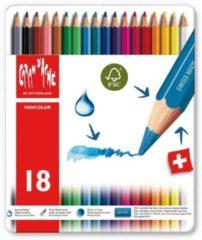 Caran d-Ache Kleurpotloden Caran d'Ache Fancolor 18stuks assorti