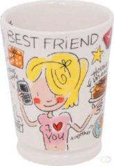 Blond mok best friend