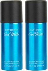 Davidoff Cool Water for men 2x deospray 150 ml = 300 ml - Bundelvoordeel