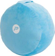 Pure2Improve - Yoga meditatie kussen - dia 33 cm - blauw - yoga kussen - meditatiekussen