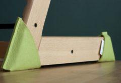 Kidsidee Sokkoo's Vloerbeschermers voor de kinderstoel kleur kikker groen