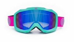 Roze Born on Board Skibril - BUBBLE MINT - 1 Jaar garantie op verlies, diefstal & beschadiging - Snowboardbril - Goggle
