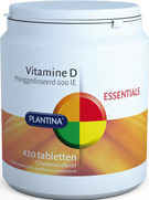 Plantina Vitamine D 600 IE - 420 Tabletten - Vitaminen