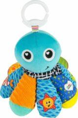 Lamaze Knuffel Octopus Zoute Sam Junior 19 Cm Pluche Blauw