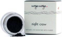 Zwarte UOGA UOGA Eye Shadow 1g Night Crow 731