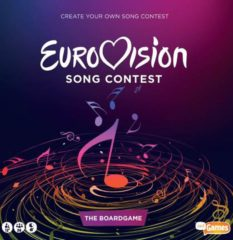 Just Games Eurovisie Songfestival Spel - Eurovision Song Contest Gezien op TV - bordspel