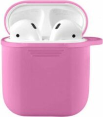 HGA AirPods 2 Hoesje - AirPods 2 Cover - AirPods 2 Case - AirPods 2 Softcase - AirPods 2 Bescherming - AirPods Case - Siliconen - Geschikt voor AirPods 2 - Roze - Pink
