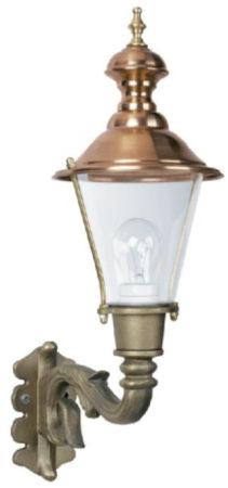 Afbeelding van KS Verlichting Bronzen, nostalgische wandlamp Ravensburg KS 7241