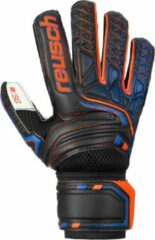 Reusch Attrakt SG Keepershandschoenen - Maat 7.5 Volwassenen - zwart/oranje/blauw/wit