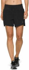 Asics - Women's Road 5.5in Short - Hardloopbroek maat L, zwart/beige