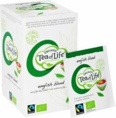 Tea of Life Organic - English Blend - 25 x 1,5gr