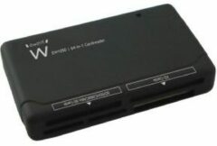 Ewent EW1050 USB2.0 Card Reader All-in-One Black 64-in-1
