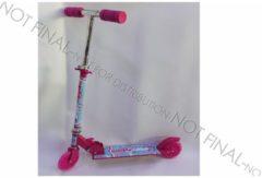 Roze Massamarkt Step Girls met 120mm Pu wielen, abec 7 lagers en Alu frame