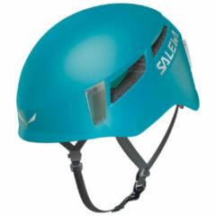 Blauwe Salewa - Pura Helmet - Klimhelm maat L/XL turkoois/blauw
