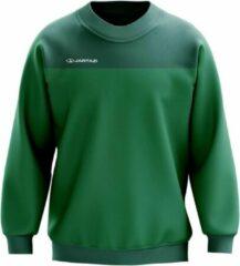 Jartazi Sweater Bari Heren Micro-polyester Groen Maat 3xl