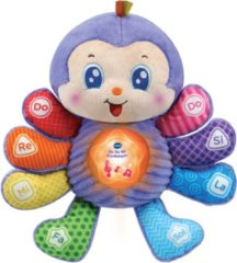 Paarse VTech Do Re Mi Knuffelspin