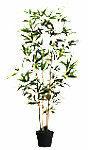 Paperflow Kunst Bamboe Polyester 190 x 190 x 1600 mm Groen