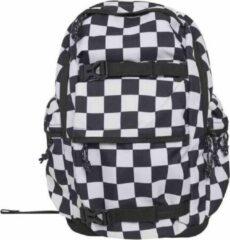 Urban Classics Rugtas Checker Zwart/Wit