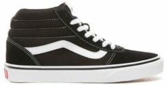 Witte Vans Ward Hi Sneakers Dames