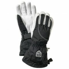 Hestra - Women's Heli Ski 5 Finger - Handschoenen maat 5, zwart/grijs