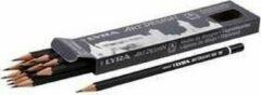 Arp design Art Design tekenpotloden, d: 6,9 mm, vulling: 1,8 mm, , Hardheid 2B , 12stuks