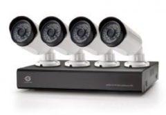 Conceptronic C4CCTVKITD2TB 4-Kanal-AHD CCTV Surveillance Kit mit 2TB W