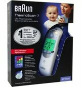 Braun ThermoScan 7 oor thermometer age precision IRT6520 (1 stuk)