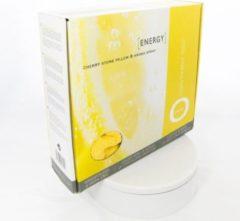 Gele Inatura - Oase Oase Energy - kersenpitkussen met individuele aromatherapie - inatura