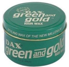 Groene Dax groen and Gold Hairwax