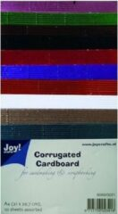 Joy! crafts - Ribbelkarton - Metallic: assorti - 8089/0221