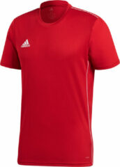 Rode Adidas Core 18 Training Jersey Sportshirt - power red/white