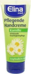 Elina Med Handcreme Kamille 75ml (4 stuks)